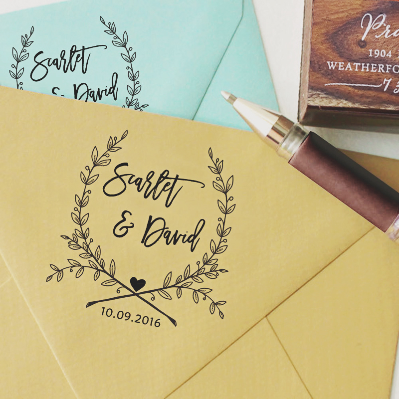 06-Hand Writing Custom Stamp