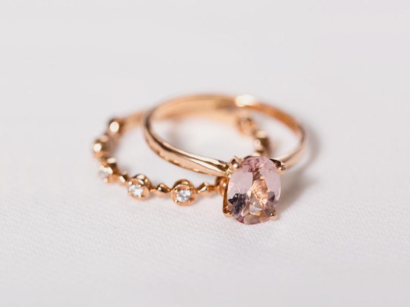 09-Rose Gold Morganite Engagement Ring
