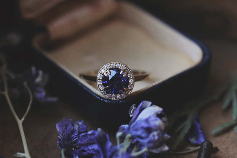 20-Sapphire Engagement Ring
