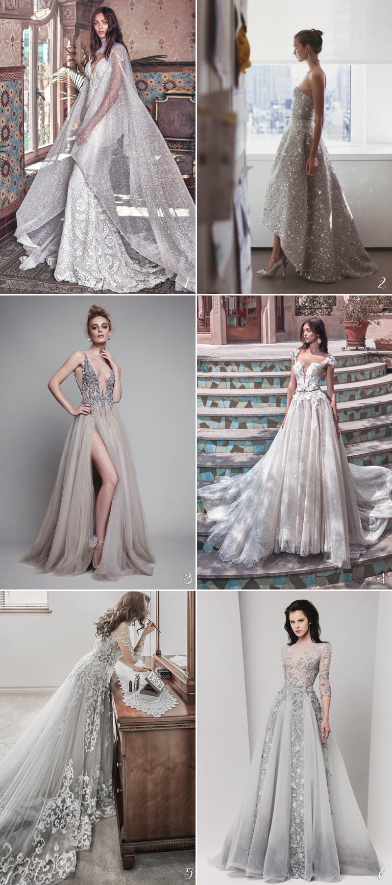 Color Wedding Dress01-Stardust