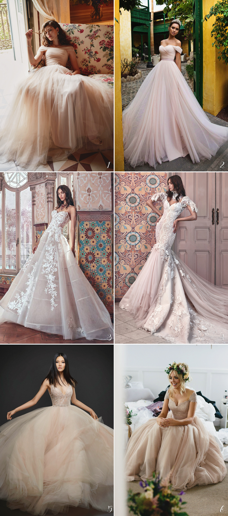 Color Wedding Dress04-dustyrose