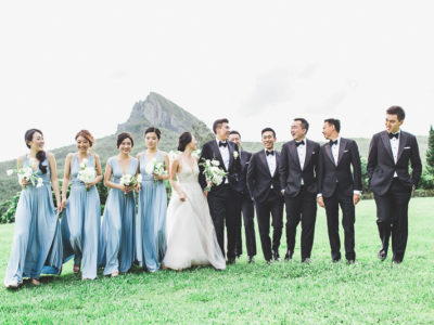 This All Natural Wedding With Breathtaking Mountain View is Pure Magic