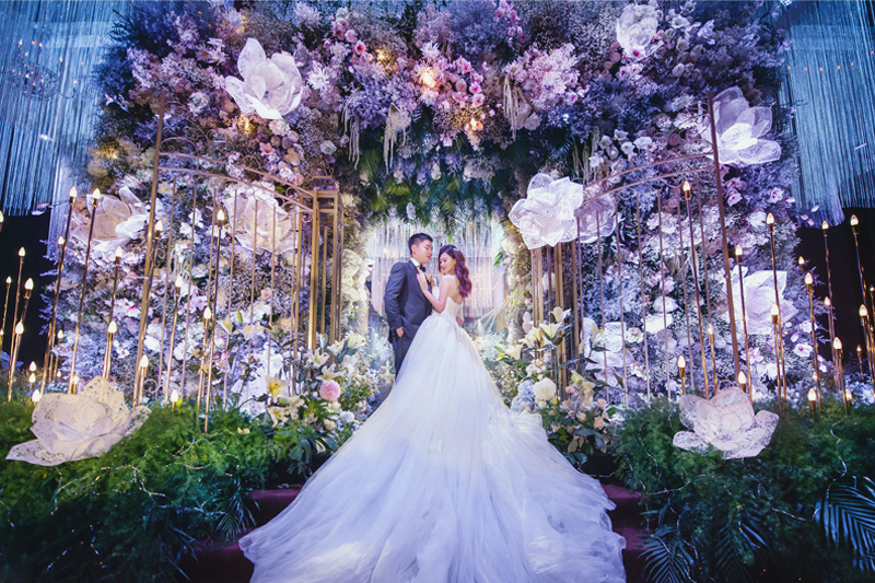 6 Breathtaking Fairy Tale Inspired Indoor Wedding D 233 Cor