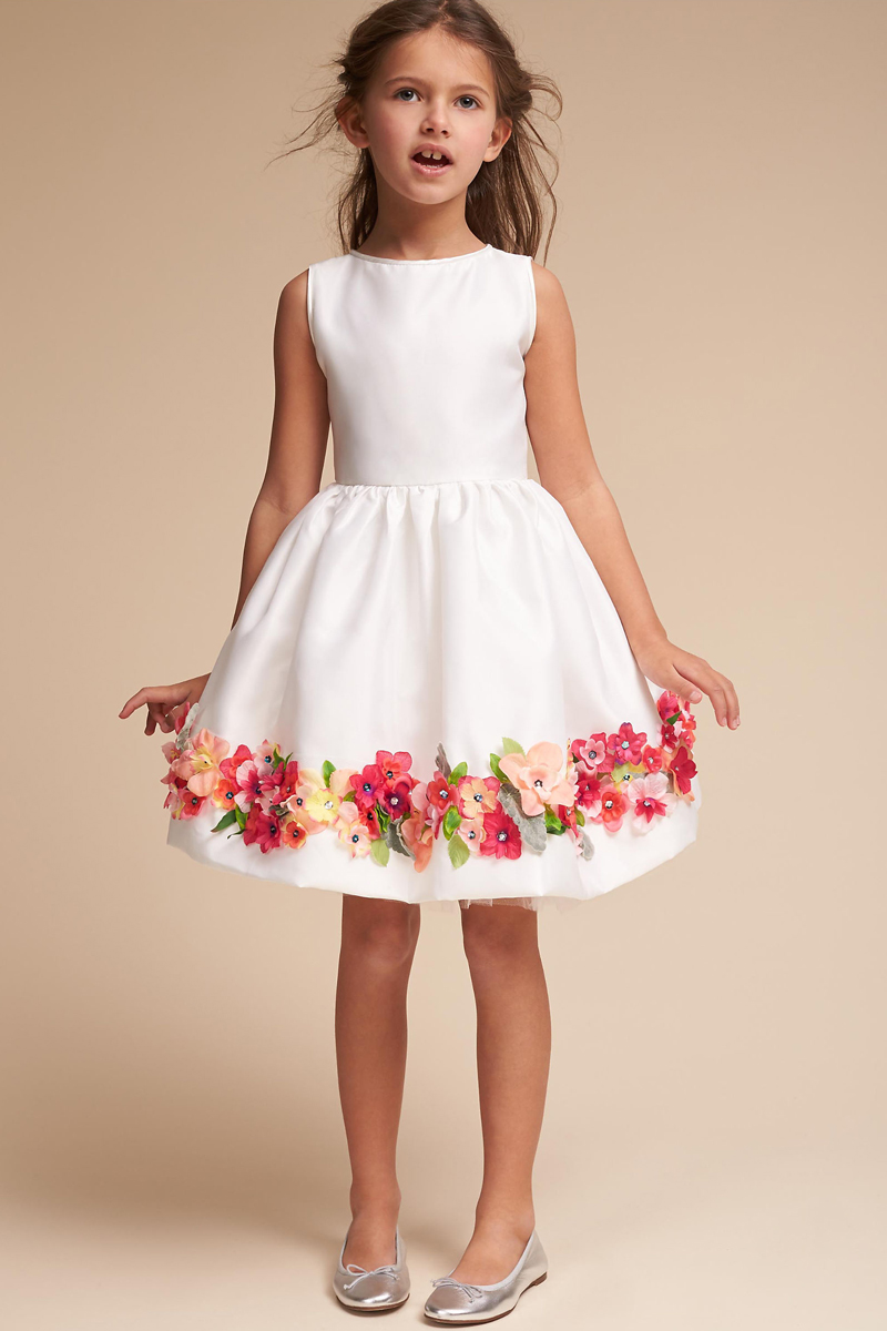 15 classic white flower girl dresses for every type of wedding 01 bhldn beatrix dress mightylinksfo