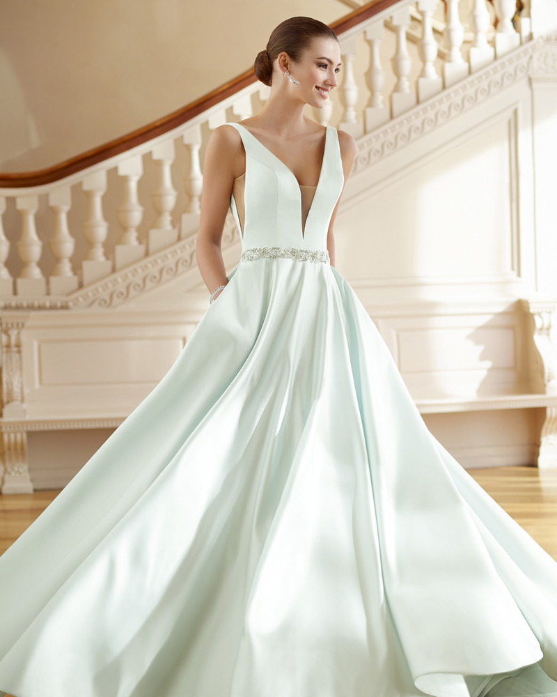 20 Gorgeous Colored Wedding Gowns Fit For A Classic Princess ...