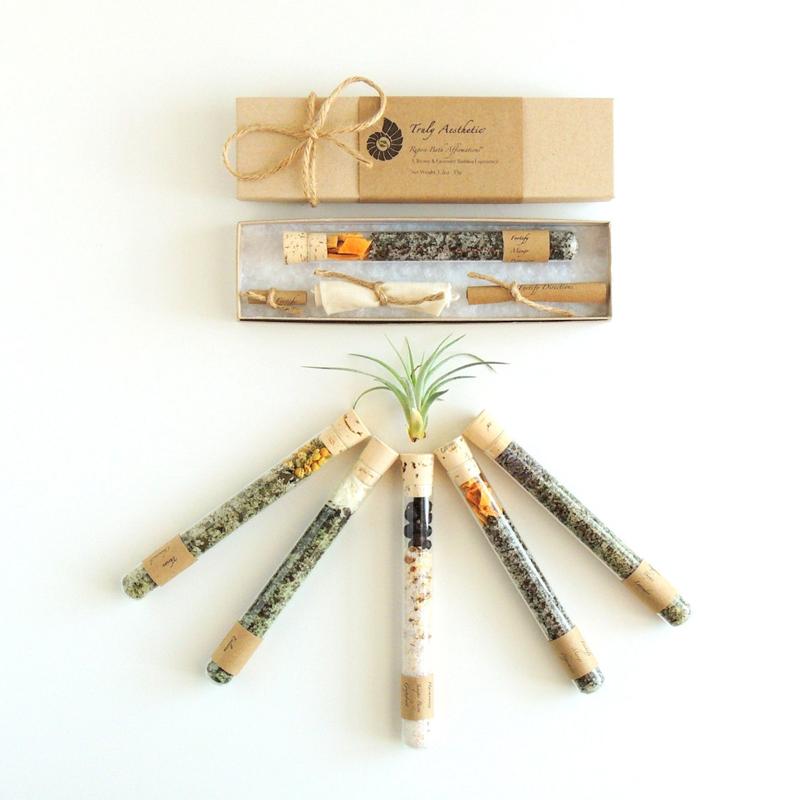 01-Organic & All Natural Bath Salt Test Tubes