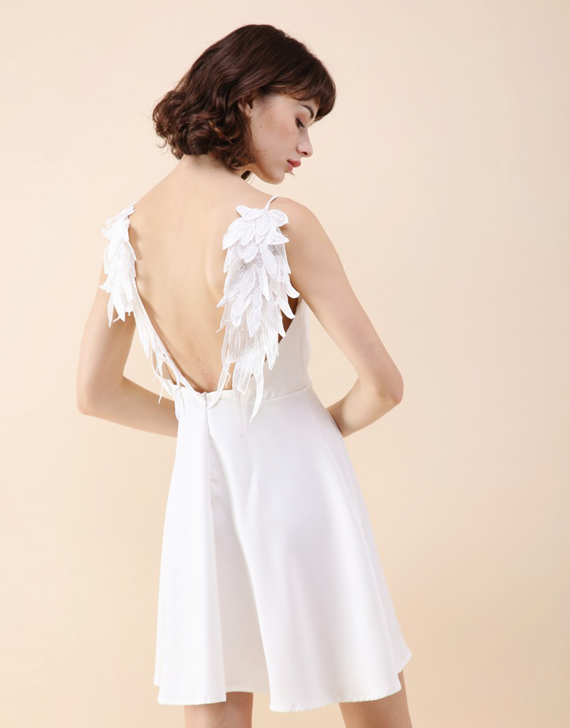 05-Chic Wish Angel's Wings Cami Dress