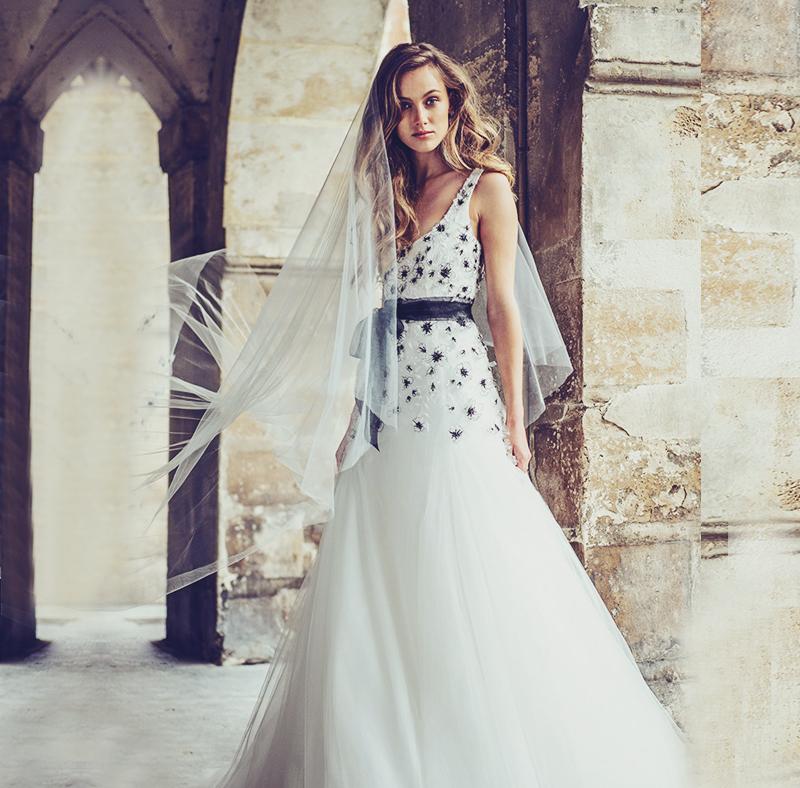 Sabrina Dahan Fall 2019 Wedding Dresses