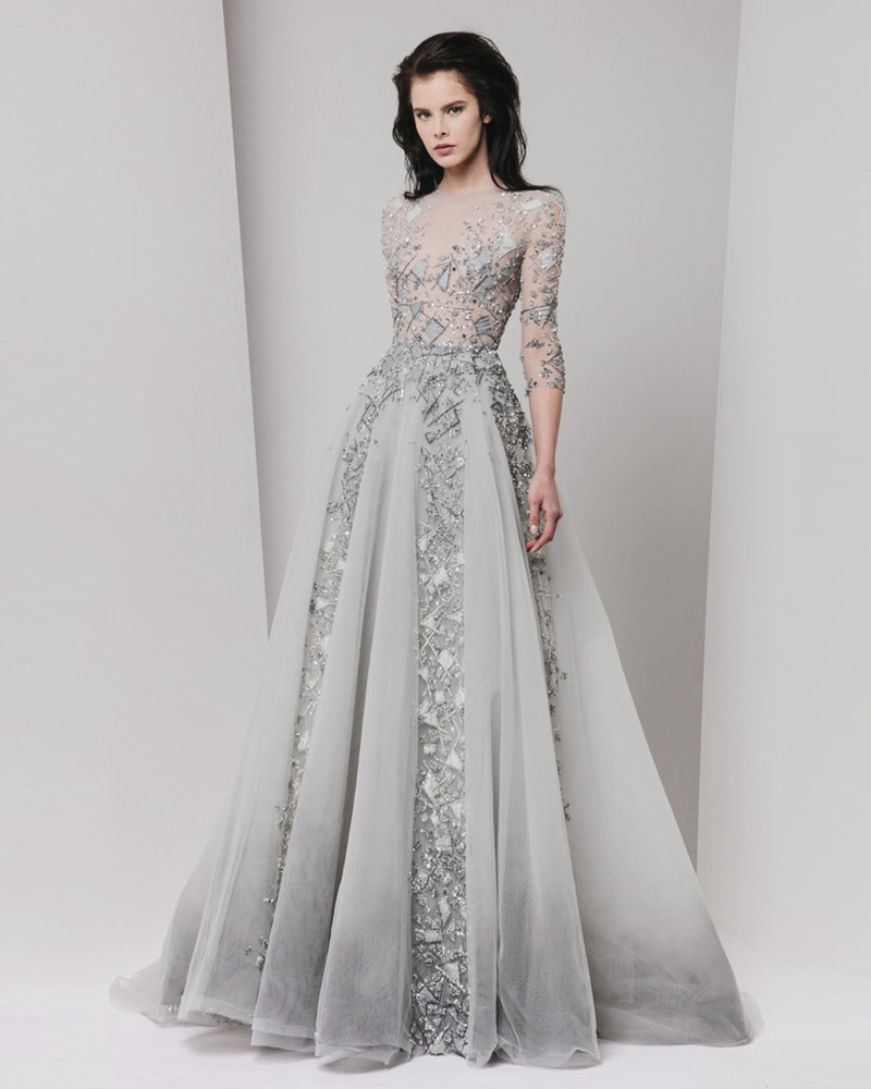 Grey Gowns Wedding: 22 Effortlessly Dreamy Grey Wedding Dresses For The