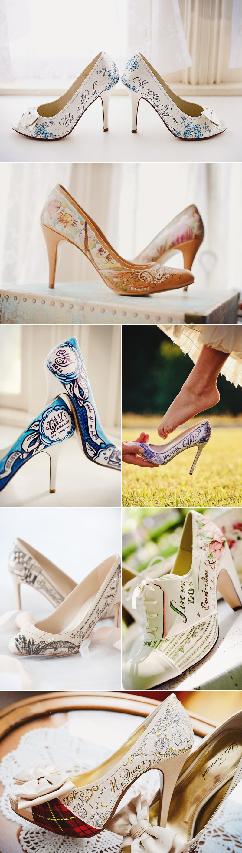 d53dc8643bc3 Design Your Own Wedding Shoes! 23 One-of-a-kind Custom Handmade ...