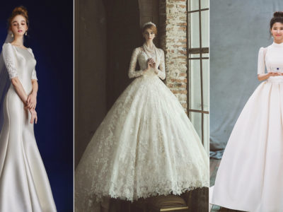No More Naked Dress! 28 Beautiful Modest Wedding Dresses For the Timeless Bride!