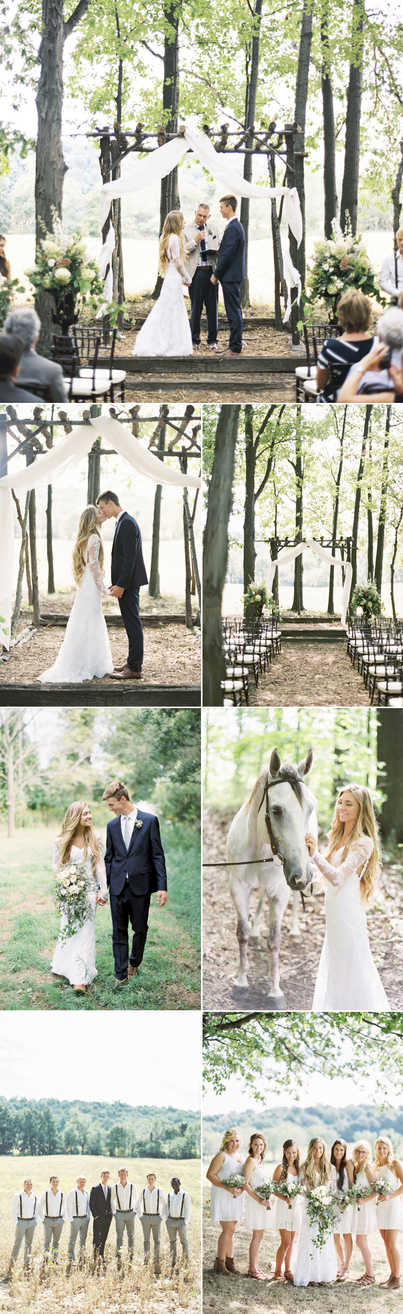 forestwedding05-Boho Forest Wedding (Andrew Mark Photography)