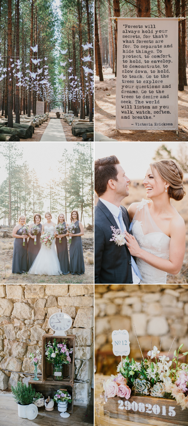 forestwedding06-Rustic Forest Wedding (photo by Carolien & Ben)