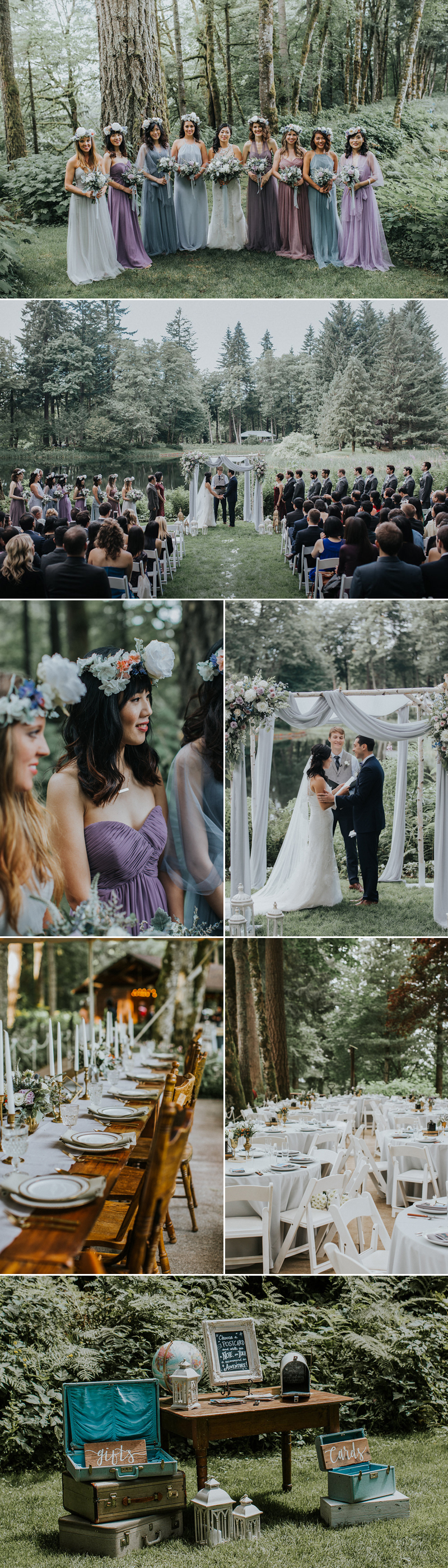 forestwedding07-Boho Woodsy Affair (Hazelwood Photo)