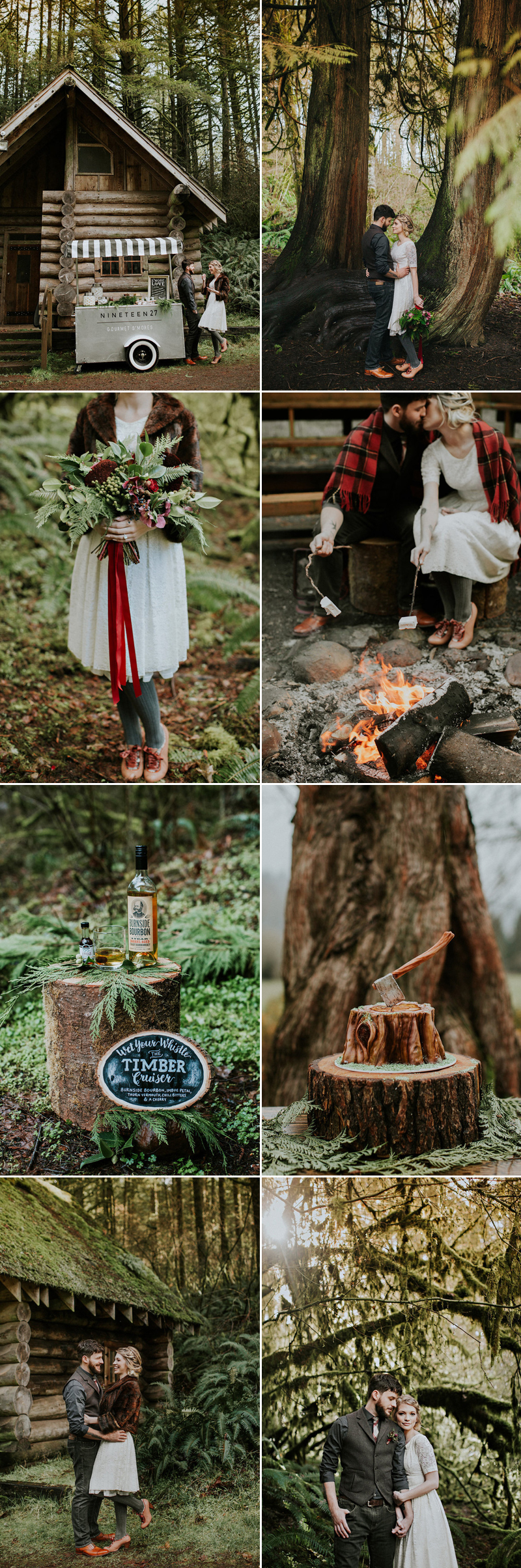 forestwedding08-Autumn Woodland (photo by Hazelwood Photo)