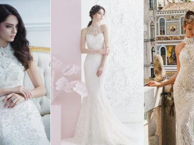 22 Fashion-Forward Halter Neck Wedding Dresses For Modern Brides!