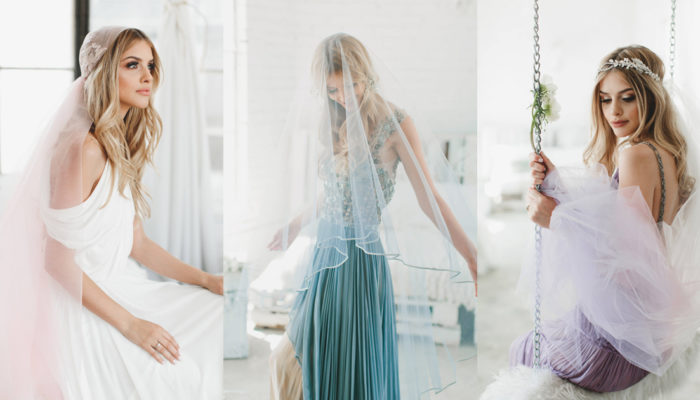 "12 Breathtakingly Beautiful Ombré Veils To Say ""I Do"" In!"