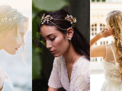 27 Delicate and Beautiful Wedding Day Hair Accessories To Impress!