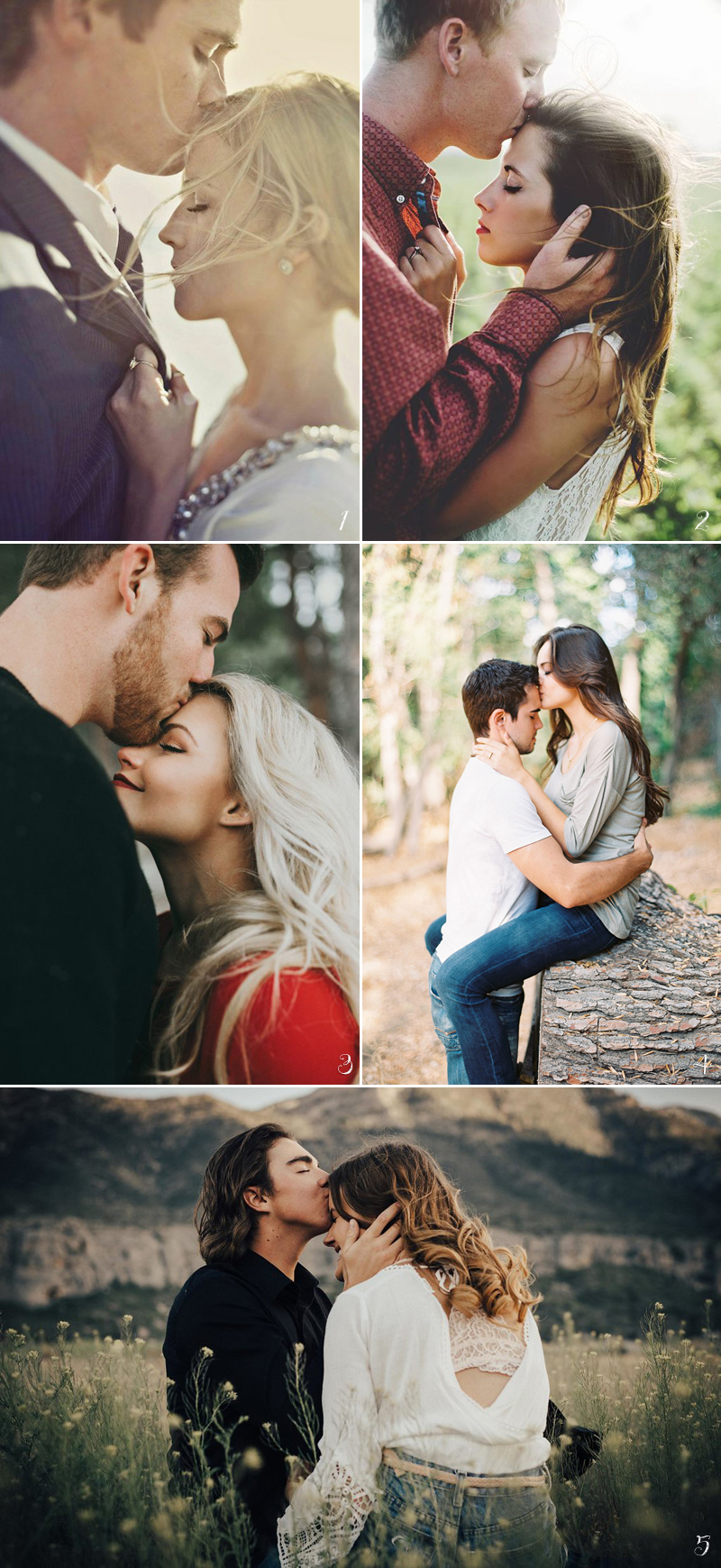 non-cheesy-engagement-photos03-foreheadkiss