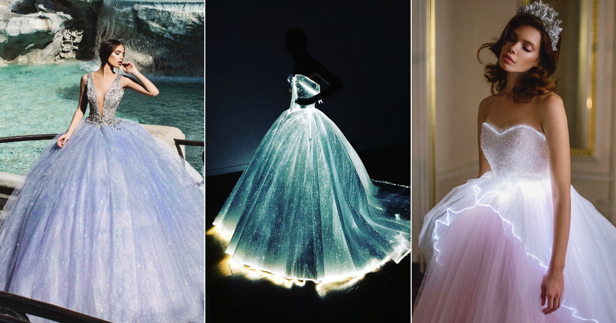 Wedding Gowns Pic: 16 Magical Wedding Gowns Fairy Tale Fans Will Adore