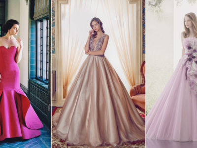 The 7 Major Color Trends for Fall 2017 Reception Gowns!