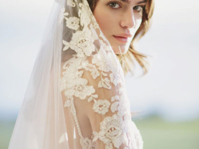 Embroidered Cathedral Veil