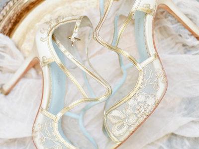 Tess Golden Sandal
