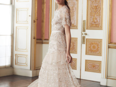 Constellation Lace Gown
