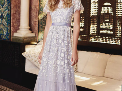 Meadow Embroidered Gown