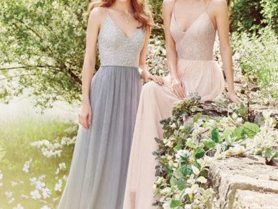 Metallic Embellished Gown