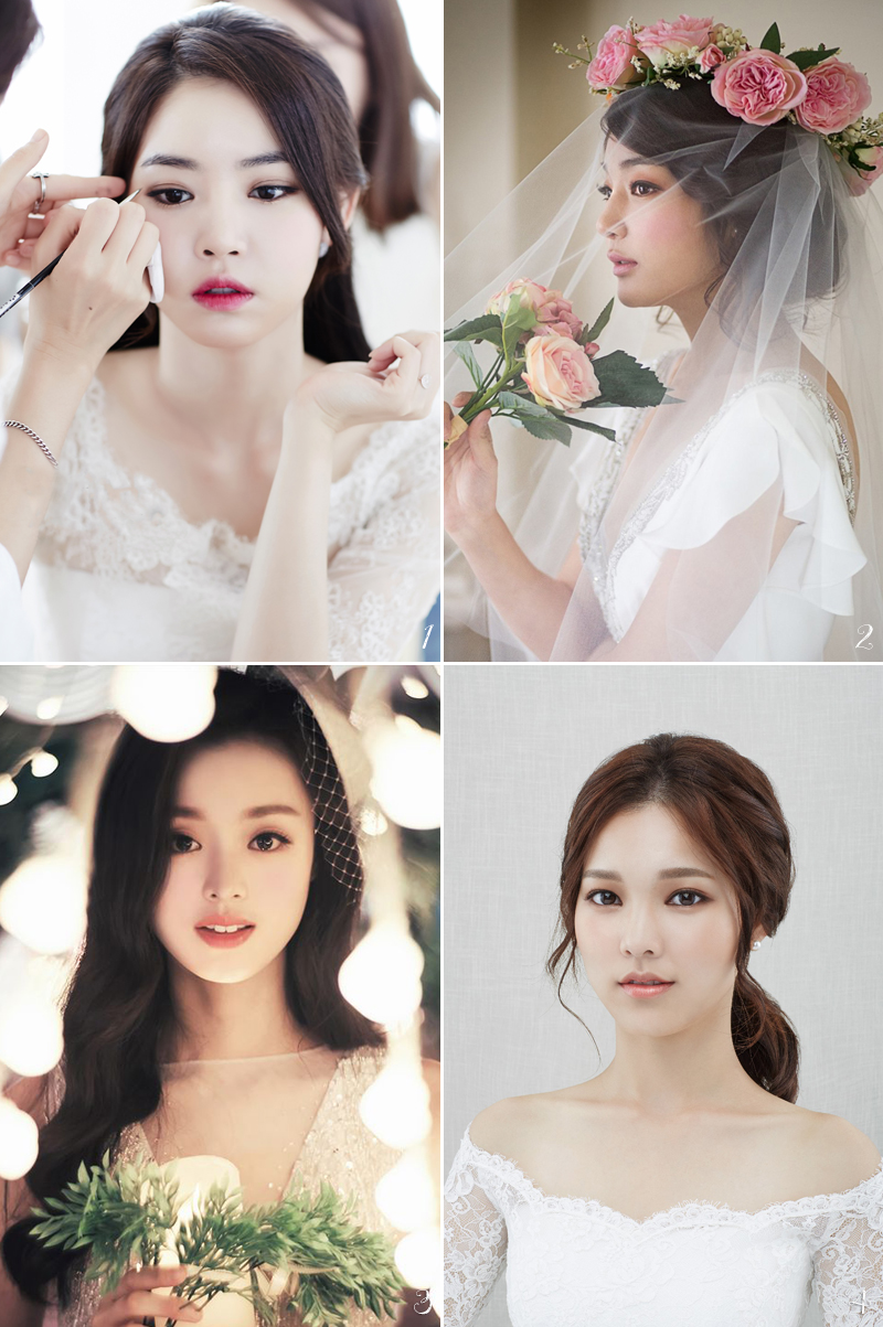 6 Korean Bridal Hair & Makeup Style Trends You Must Know! - Praise ...