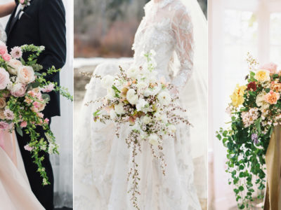 24 Utterly Romantic Organic Fine Art Bridal Bouquets!