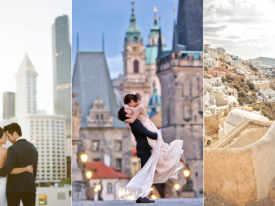 28 Epic Engagement & Pre-Wedding Photos Featuring Breathtaking Cityscape!