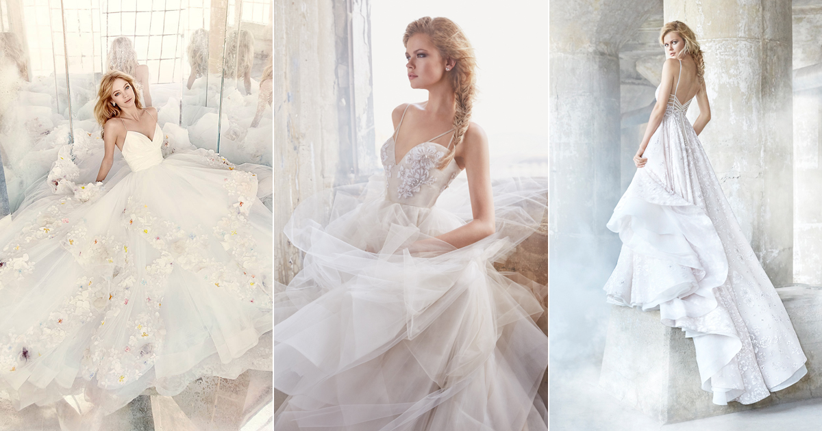 Sweet femininity with a touch of edginess hayley paige wedding sweet femininity with a touch of edginess hayley paige wedding dresses for modern romantic brides praise wedding junglespirit Choice Image