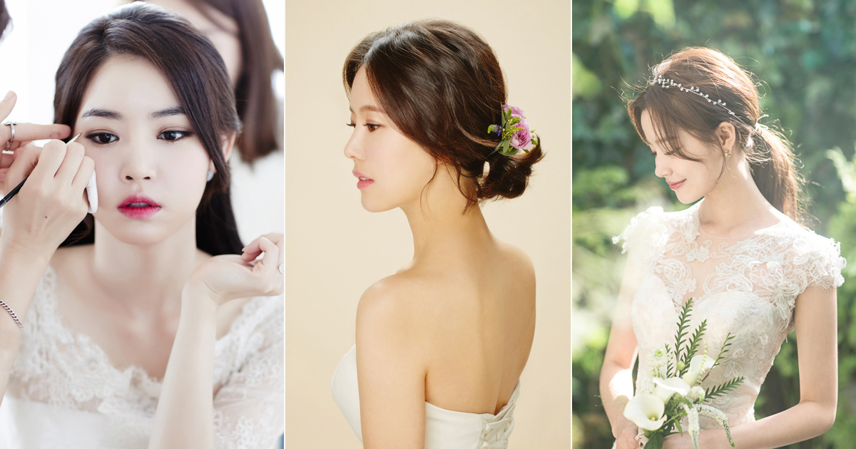 6 Korean Bridal Hair Amp Makeup Style Trends You Must Know