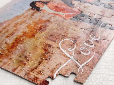 Photo Puzzle Guestbook