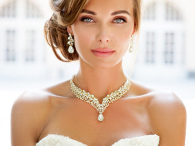 Bridal Backdrop Necklace