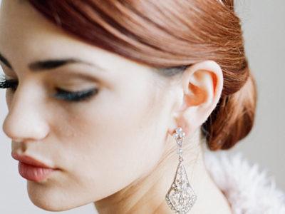Dangle Bridal Earrings