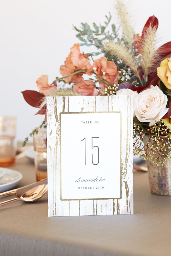 Farm Top Table Barn Vintage Rustic A6 Calligraphy Wedding Table Numbers Multi Pack Table Numbers