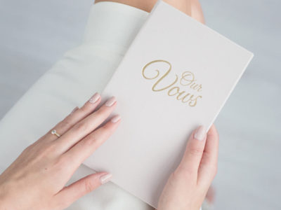 Keepsake Calligraphy Vow Book