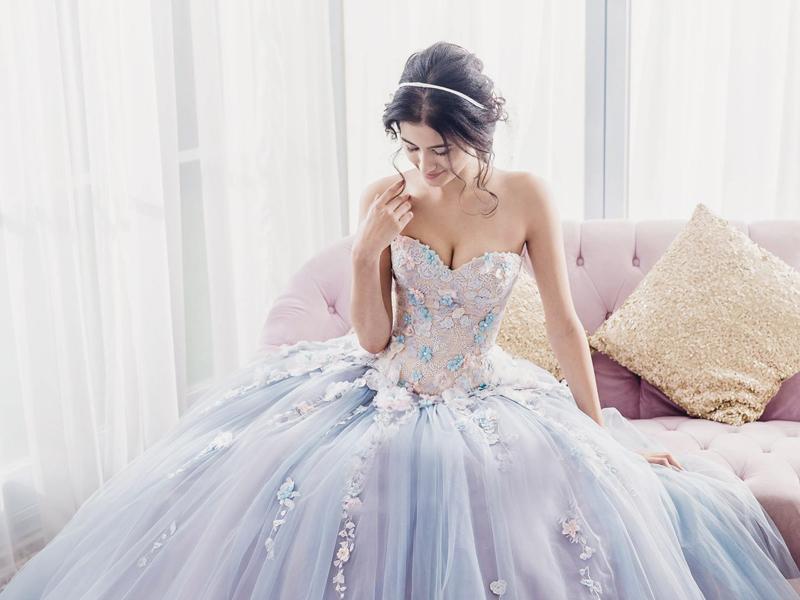 20 Romantic Enchanted Wedding Dresses for Modern Brides - Praise Wedding
