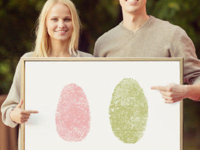 Fingerprint Art Guestbook