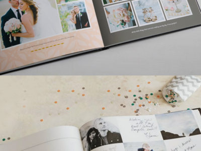 Classic Photo Guestbook