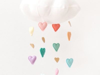 Rainbow Heart Cloud Mobile