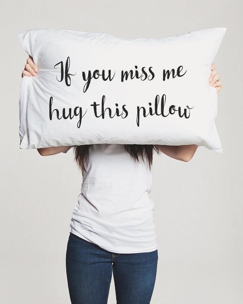13-Long Distance Relationship Pillow