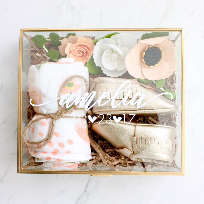 15-Personalized Baby Gift Set