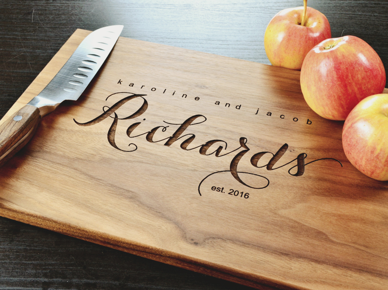 18-Personalized Cutting Board