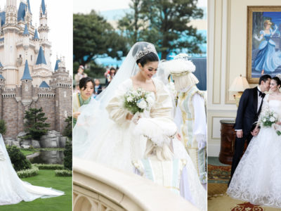 Indonesian Actress Sandra Dewi's Fairy Tale Wedding at Tokyo Disneyland