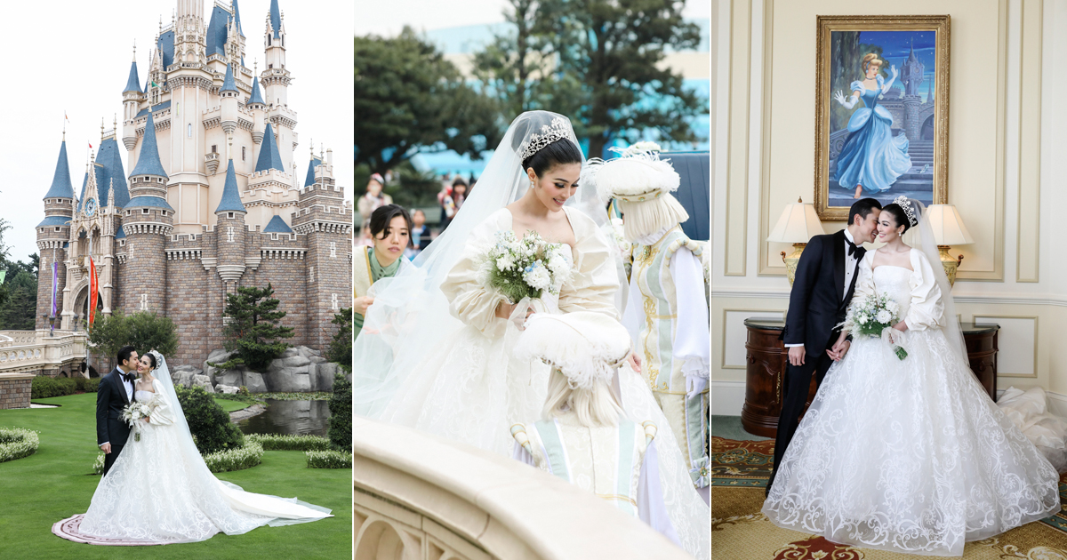 Indonesian Actress Sandra Dewi's Fairy Tale Wedding at Tokyo