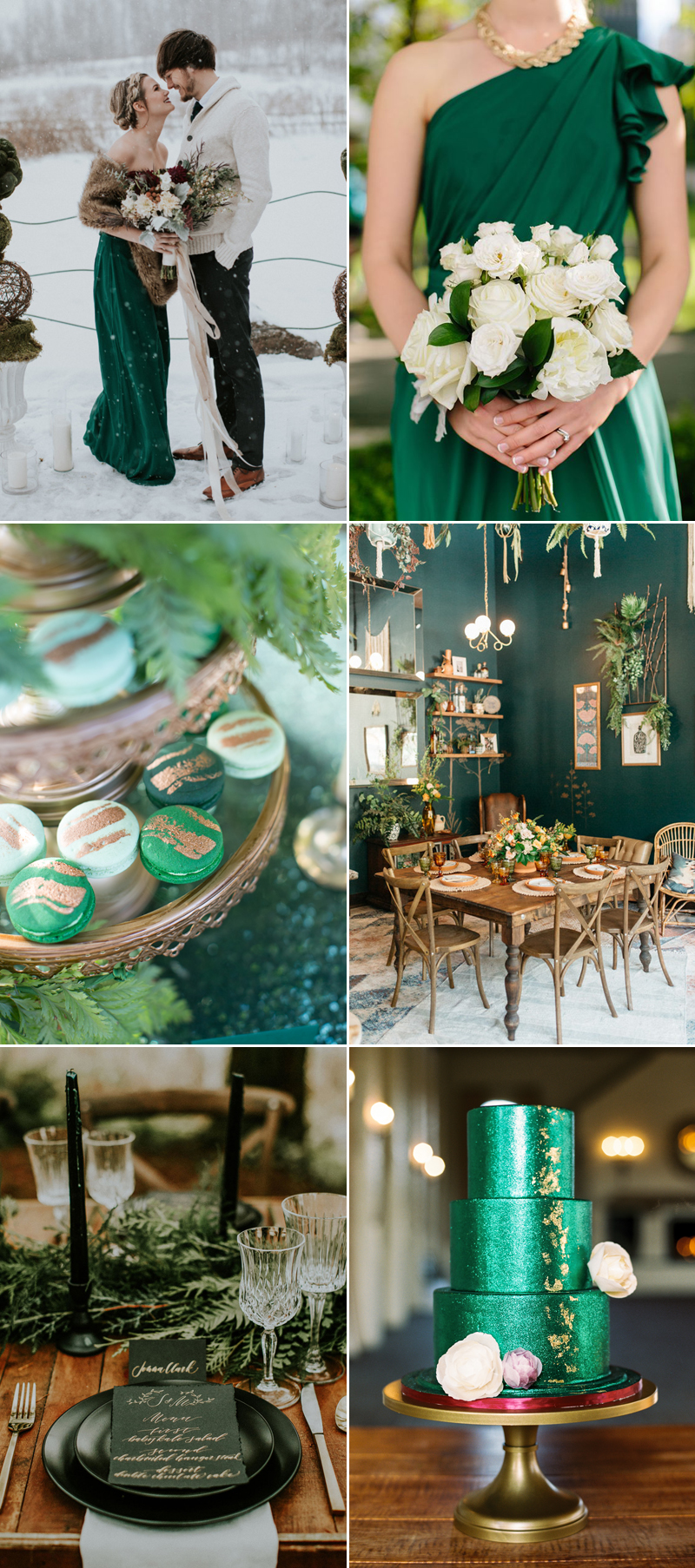 Colors Of The Season Top 7 Sophisticated Winter Wedding Color